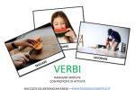 Immagini verbi da stampare