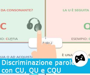 Discriminazione parole omofone non omografe