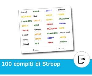 100 schede stroop gratis