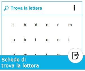 Trova la lettera