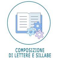 Schede ed esercizi sulla composizione di lettere e sillabe