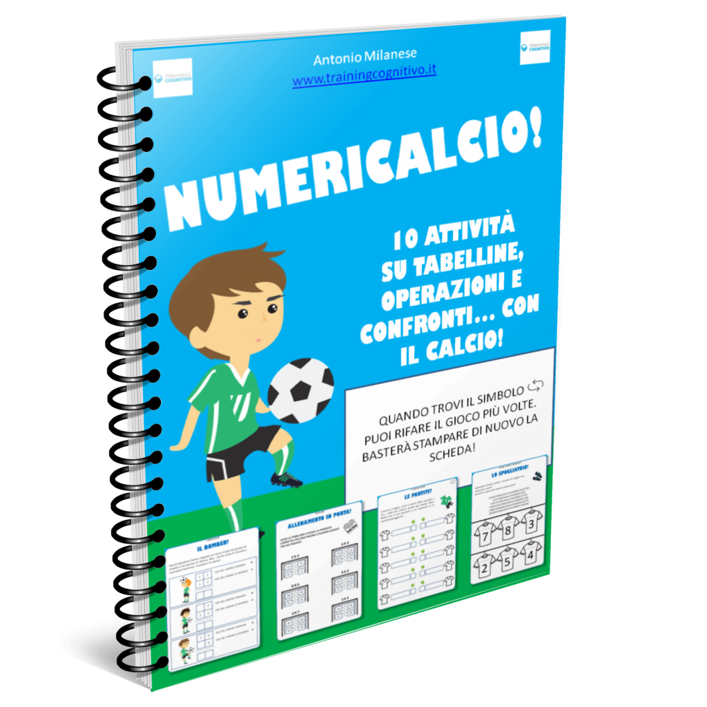 NumeriCalcio: nga mahi me te nama whutupaoro