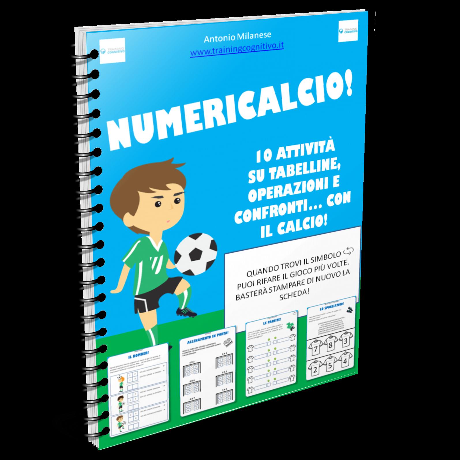 NumeriCalcio: aktivitātes ar numuriem un futbols