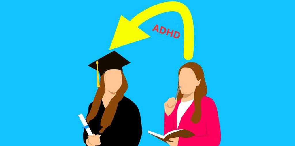 ما مدى استفادة طلاب الجامعات المصابين باضطراب فرط الحركة ونقص الانتباه من مراجعة الدراسة؟