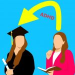 Cik daudz koledžas studentu ar ADHD gūst labumu no studiju pārskatīšanas?