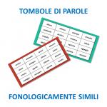 Fonolojik olarak benzer kelimeler bingo
