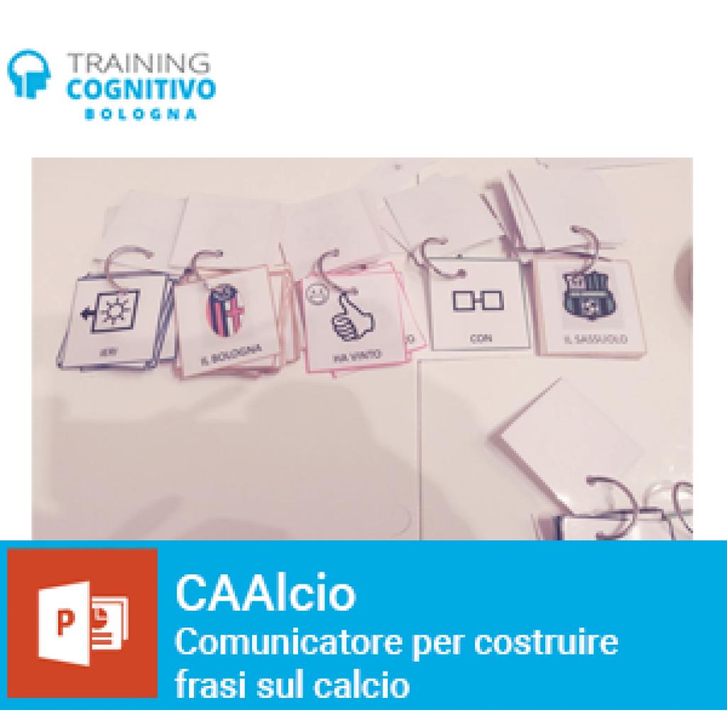 CAAlcio: comunicatore per costruire frasi sul calcio