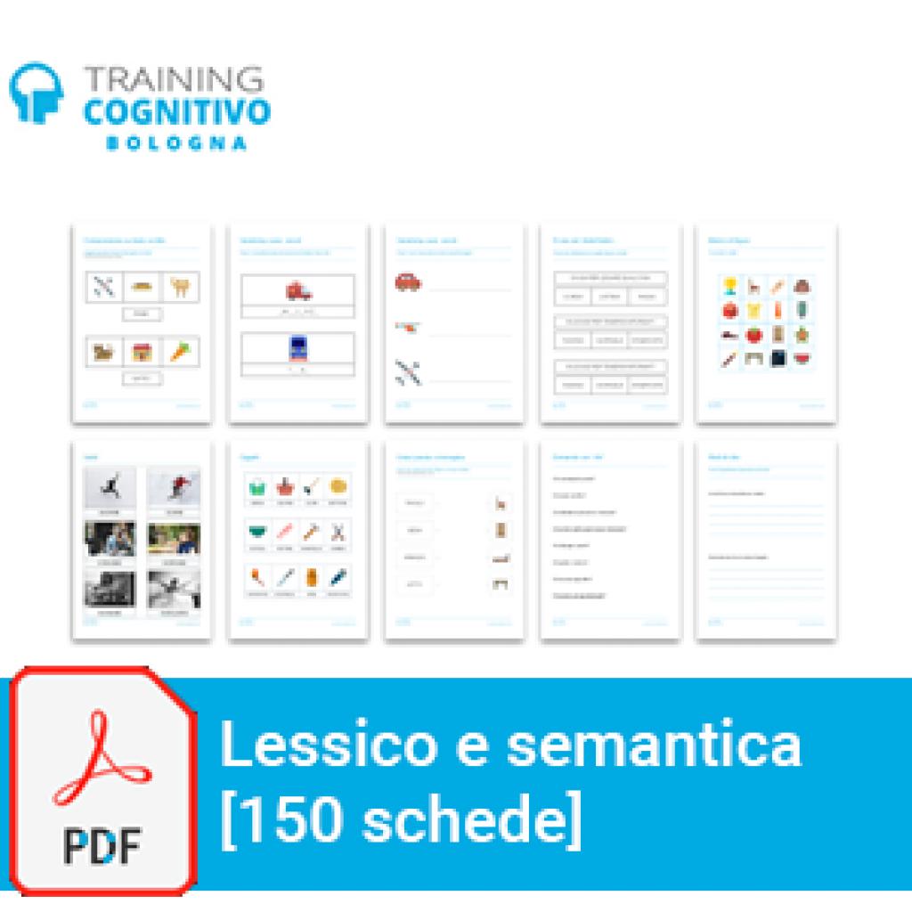 Lessico e semantica - 150 schede