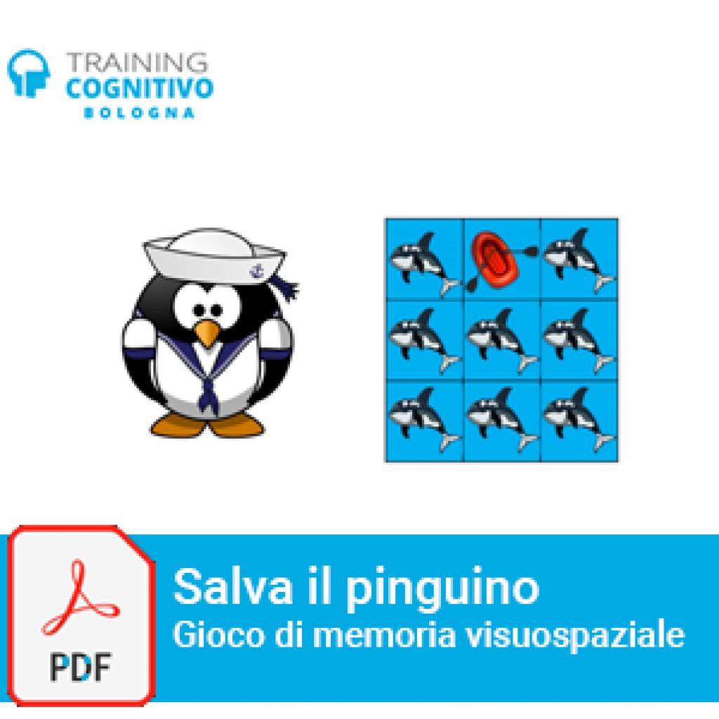Salva il pinguino - Gioco di memoria visuospaziale