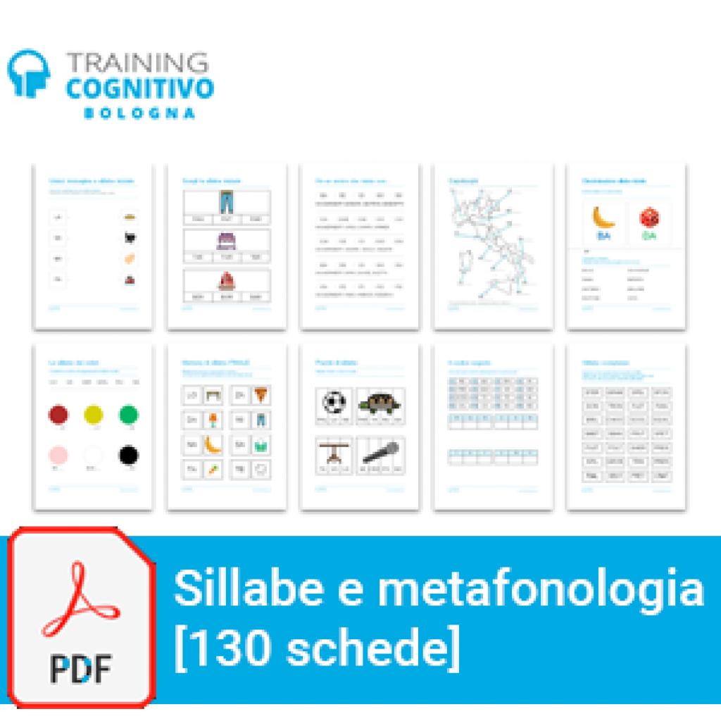 Sillabe e metafonologia: 130 schede
